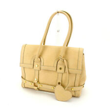 Samantha Thavasa Tote bag Beige Gold Woman Authentic Used L715