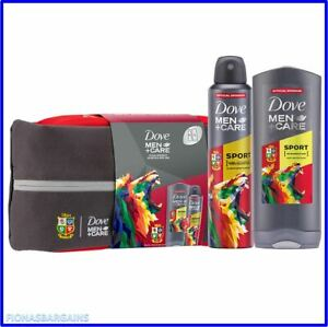 Dove Men+Care Rugby British & Irish Lions Limited Edition Gift Set & Wash Bag