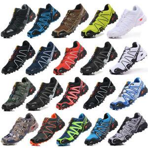 Herren Outdoorschuhe Salomon Speedcross 3 Schuhe Gym Laufschuhe Shoes Gr.40-47
