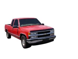 AVS for 88-99 Chevy CK Aeroskin Low Profile Acrylic Hood Shield - Smoke - avs322