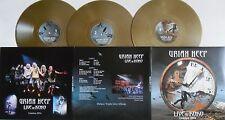 LP URIAH HEEP Live At Koko (3LP) GOLD VINYL - Frontiers 4046661383317 SEALED