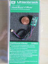 Uhlenbrock 32500 Soundmodul4 mit Wunschsound Spur H0,G,0,1,N,TT NEU OVP (32300)
