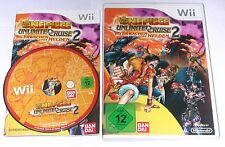 "NINTENDO WII SPIEL"" ONE PIECE UNLIMITED CRUISE 2 "" KOMPLETT"