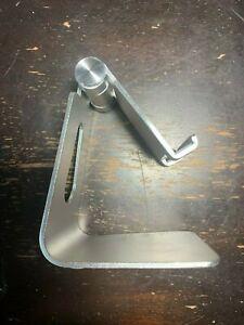 Z4 Universal Foldable Aluminum Desk Stand Adjustable Holder iPhone Galaxy Tablet