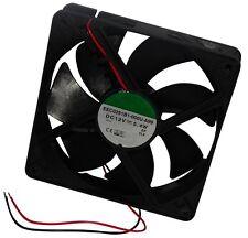 Ventilateur de boîtier d'ordinateur PC 12V 12x12x2,5cm 183,8m3/h 44,5dBA 3100rpm