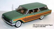 Franklin Mint 1961 FORD COUNTRY SQUIRE WAGON 1/24 MIB!