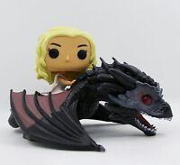 FUNKO POP #15 Game of Thrones Daenerys Targaryen & Drogon Dragón Juego de Tronos