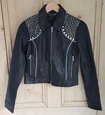 Diesel Lakor Giacca black leather jacket. BNWT. GENUINE RRP £799.