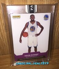 2016-2017 Panini Instant NBA KEVIN DURANT #1 3/10 PURPLE RARE FIRST WARRIOR CARD