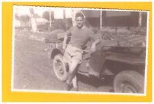 Photos Amateur / MILITAIRE en JEEP période 1940-1960