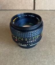 Minolta MC Rokkor-X 50mm PF 1:17 Lens