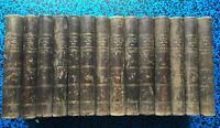1803 PLUTARQUE VIES HOMMES ILLUSTRES JOLIES GRAVURES LIVRE HISTOIRE 14 vol BOOK