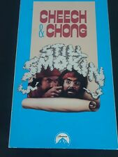 Cheech and Chong Still Smokin (VHS, 1992)