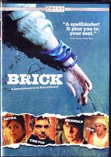 Brick (DVD, 2006) Joseph Gordon Levitt, Lukas Haas, Nora Zehetner NEW Ships Free