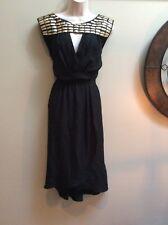 Tracy Reese  Petite Embellished Asymmetrical Hem Dress