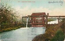 1908 Irrigation Wheel, Idaho Postcard