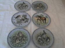Royal Copenhagen - Nature's Children Wall Plates - (6 Plates)
