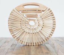 Love Stitch Bamboo Clutch Bag