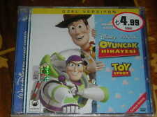TOY STORY TURKISH VCD LICENSED SEAL DISNEY PIXAR VCD TURKISH DUBBING VCD TURKEY