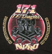 JOE MORRISON LEVERICH RACING Top Fuel Dragster T-shirt 4XL Black New NHRA