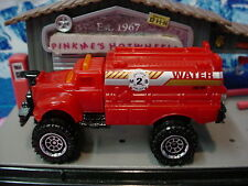 2014 Fire Command☆FLAME SMASHER∞Red; 8 Ring; Fire Dept; Water☆ Loose Matchbox ☆