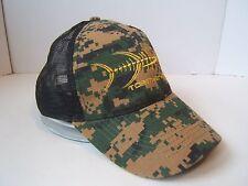 Tormenter Raging Tuna Digital Camo Mesh Trucker Cap Hook Loop Baseball Hat