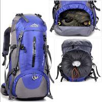 50L Waterproof Outdoor Sports Backpack Camping Hiking Bag Travel Rucksack Unisex