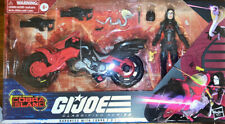 G.I. JOE Classified Series Baroness with Cobra Motorcycle Target Exclusive
