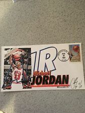 MICHAEL JORDAN Cashet , August 28, 1991 FIRST DAY ISSUE limited 18/19 NM