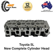 Toyota Hilux Hiace 5L New Complete Cylinder Head Diesel 4 Cyl 8V SOHC 1997-2005
