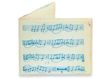 The Music Sheet Mighty Wallet Bi-Fold Style by Dynomighty