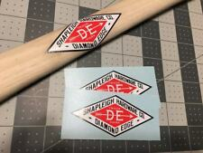 Shapleigh Hardware Co Diamond Edge Decals set of 2
