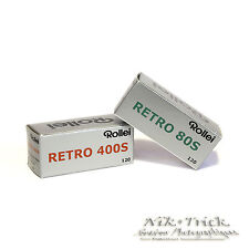 Rollei Retro 120 Trial Pack - Four Rolls of Lovely Film 2x400s 2x 80s