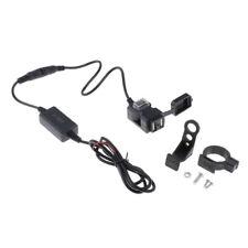 Dual USB Handlebar Charger Power Adapter for E-bike Socket 9V-90V Mobile Phone