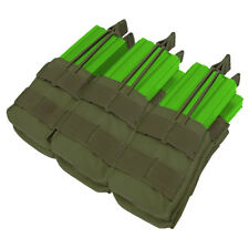 CONDOR TRIPLE STACKER MAG POUCH RANGE MOLLE WEBBING AMMO HOLDER OLIVE