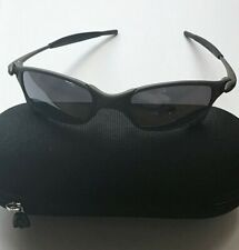 LOOK Oakley Juliet X Metal Sunglasses Black Iridium Lenses Temple Shocks Case