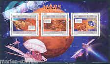 GUINEA 2012 MARS CURIOSITY GLOBAL SURVEYOR  SHEET MINT NH