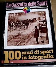 100 anni Sport Genoa 1898 Storia Supplemento Gazzetta dello Sport 11/04/1987