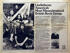 Lindisfarne Vintage 1970s Media Clippings, Promo & Concert Ads Collection