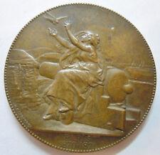 Médaille Guerre 1870-71 Siège de Paris COMMUNICATIONS AERIENNES par DEGEORGE