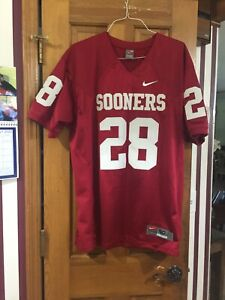 OU SOONERS NIKE AUTHENTIC AD ADRIAN PETERSON FOOTBALL JERSEY SIZE 50