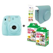 Fujifilm Instax Mini 9 BLEU GLACE + 40 balles + étui + GRATUIT Wall album