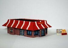 McDonalds Z Scale resin kit 1:220 model train restaurant fast food building