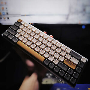 Shimmer XDA Height Keycap PBT 125 Keycaps For Cherry MX Mechanical Keyboard Set