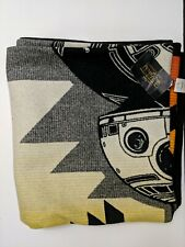 """Pendleton Star Wars BB8 Limited Edition Blanket 64"""" x 72"""" #902 of 1977"""