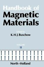 Handbook of Magnetic Materials: Handbook of Magnetic Materials 11 by Gerard...