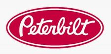 Peterbilt Trucks Oval Logo Diecut Decals *RED* Vinyl Stickers 8x3