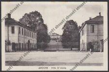 MONZA ARCORE 04 VILLA D'ADDA Cartolina 1954