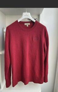 Burberry 100% Cashmere Jumper Sweater XL