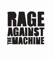 Rage Against the Machine Band Vinyl Die Cut Car Decal Sticker - FREE SHIPPING
